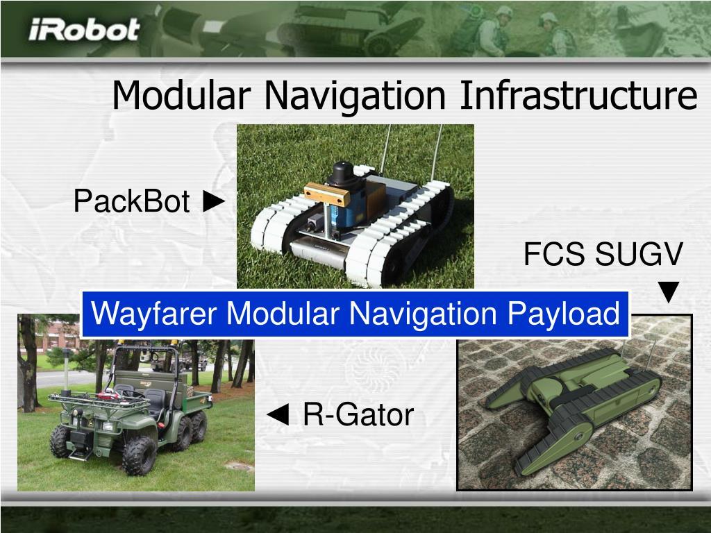 Modular Navigation Infrastructure