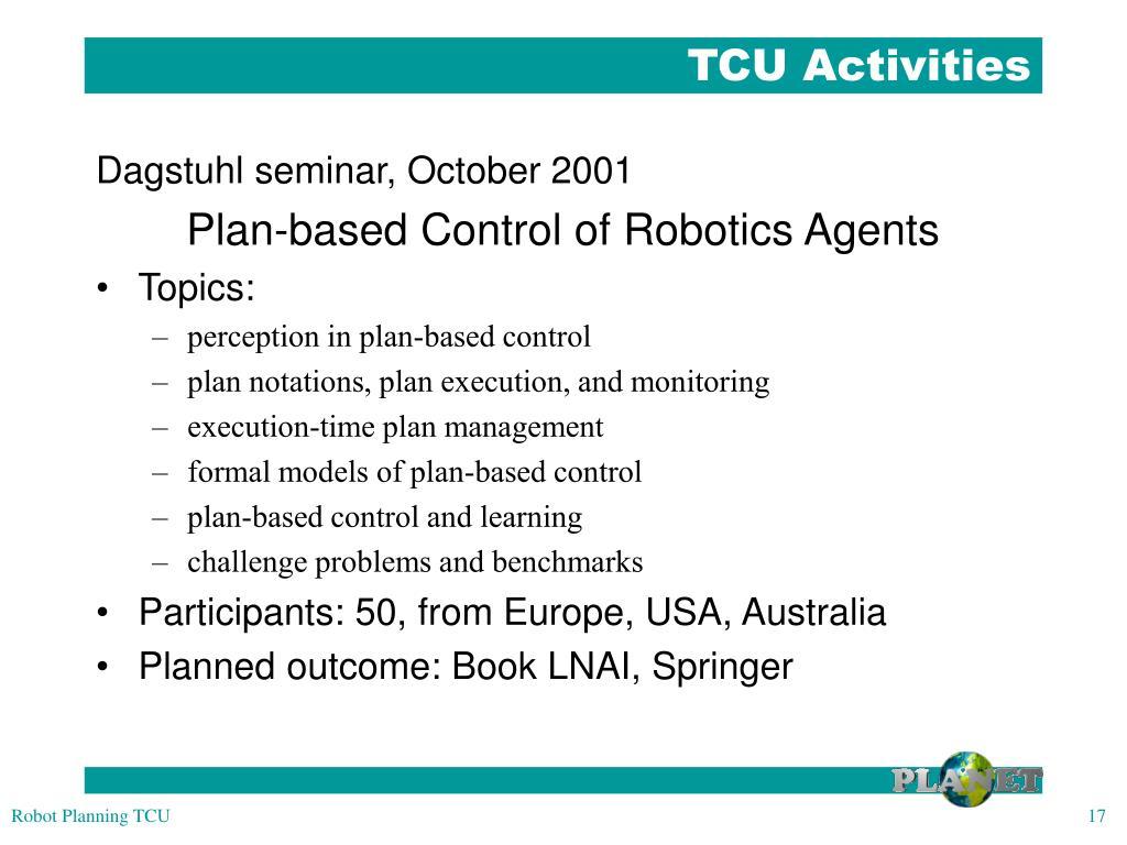 TCU Activities