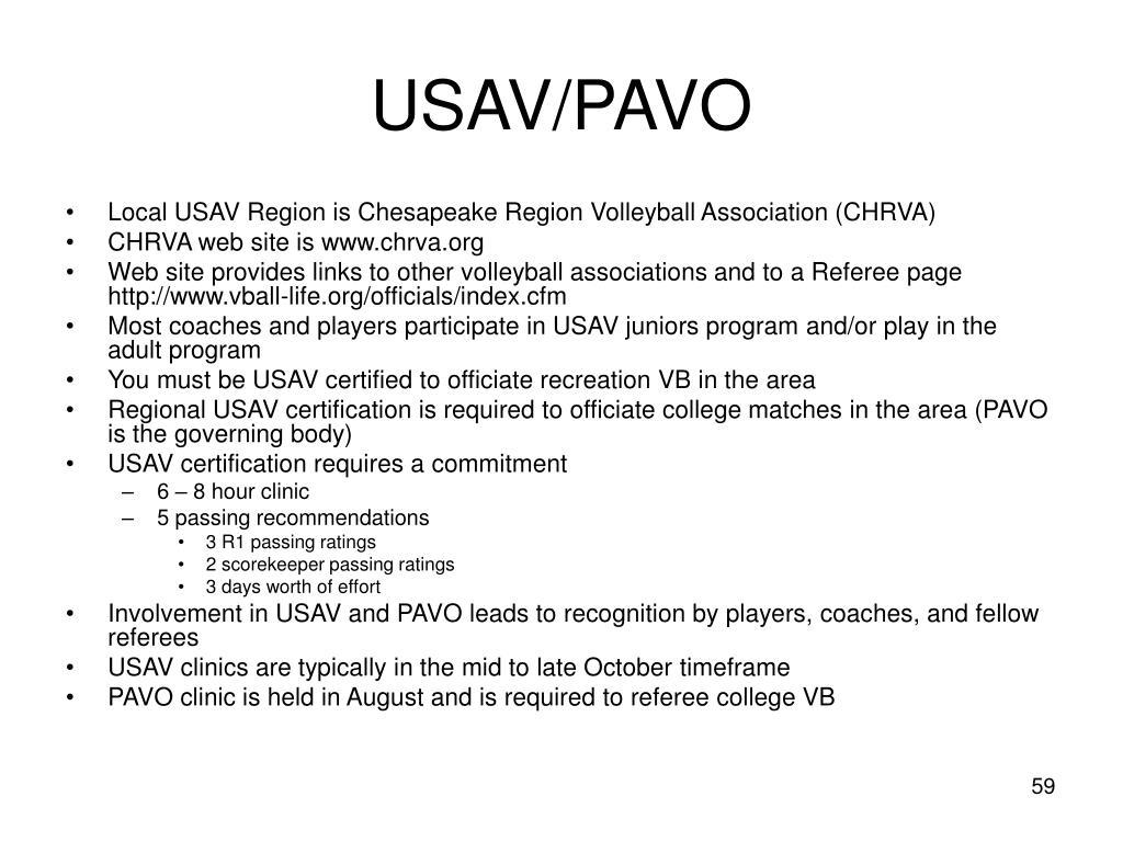 USAV/PAVO