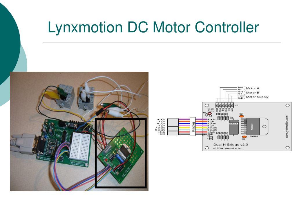 Lynxmotion DC Motor Controller