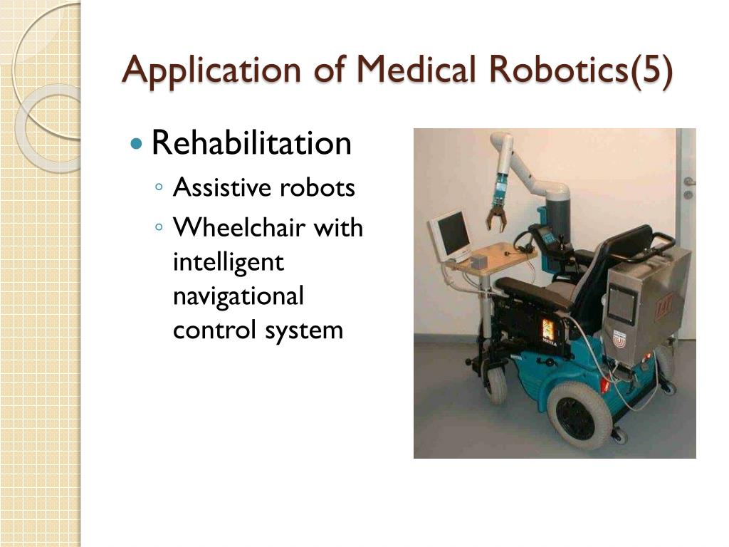 Application of Medical Robotics(5)