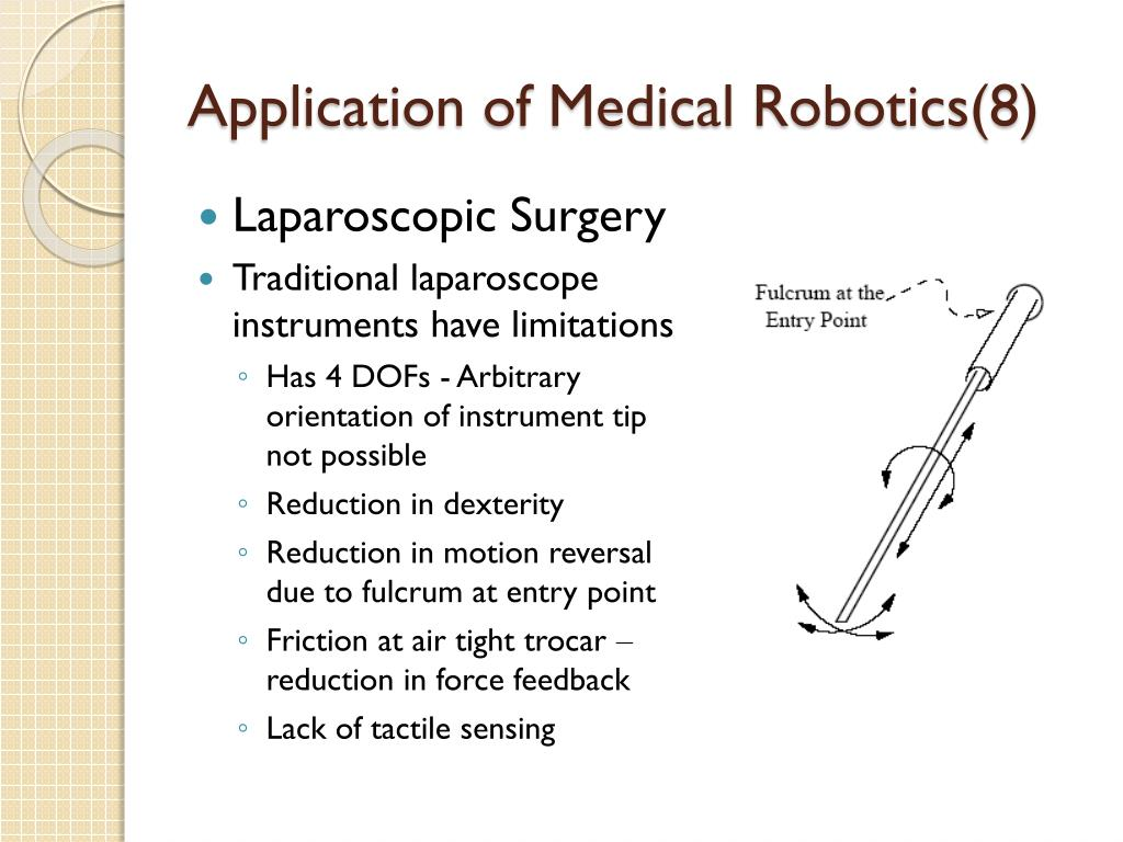 Application of Medical Robotics(8)