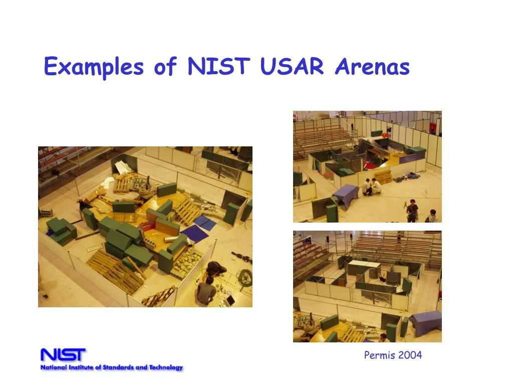 Examples of NIST USAR Arenas