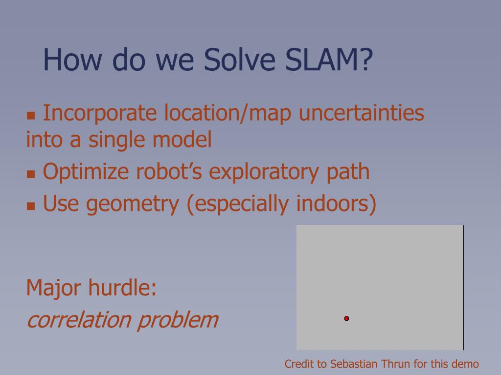 Incorporate location/map uncertainties into a single model