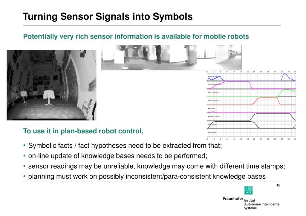 Turning Sensor Signals into Symbols