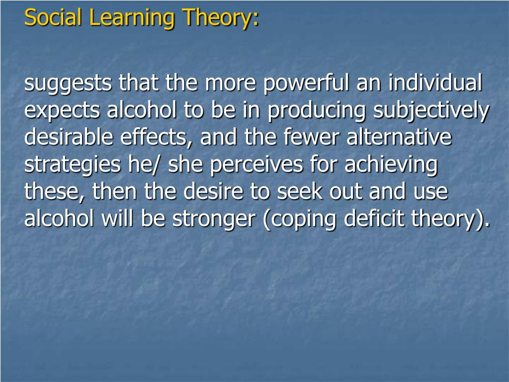 Social Learning Theory: