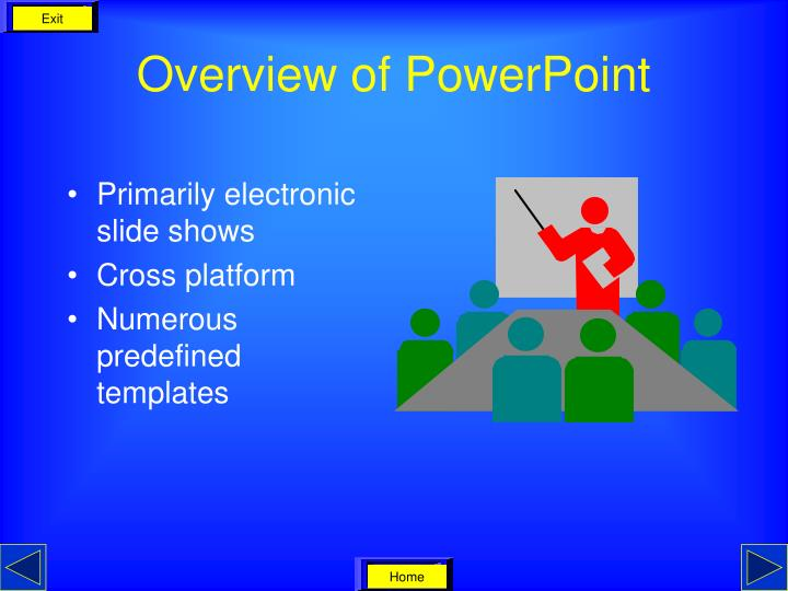 Overview of powerpoint