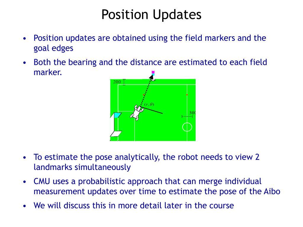 Position Updates