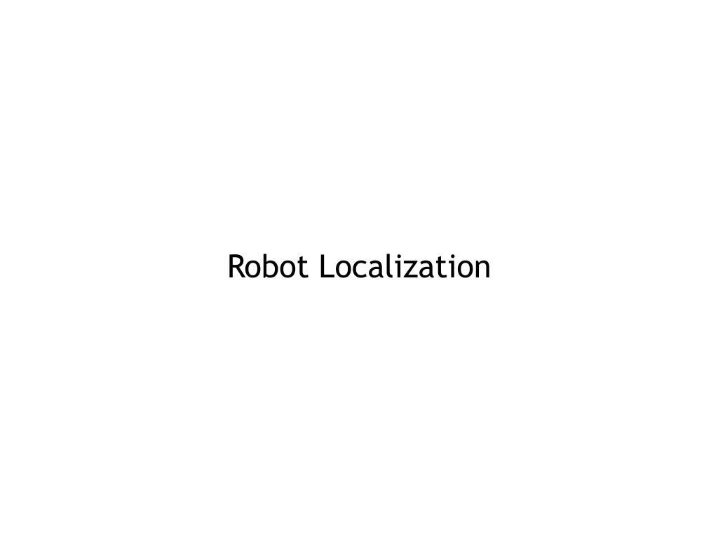 Robot Localization