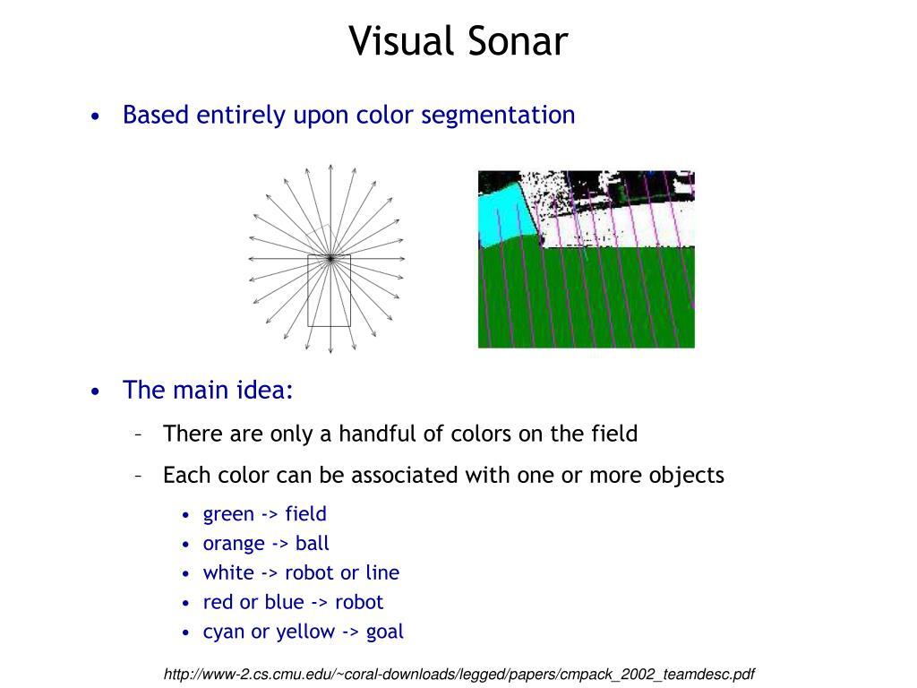 Visual Sonar