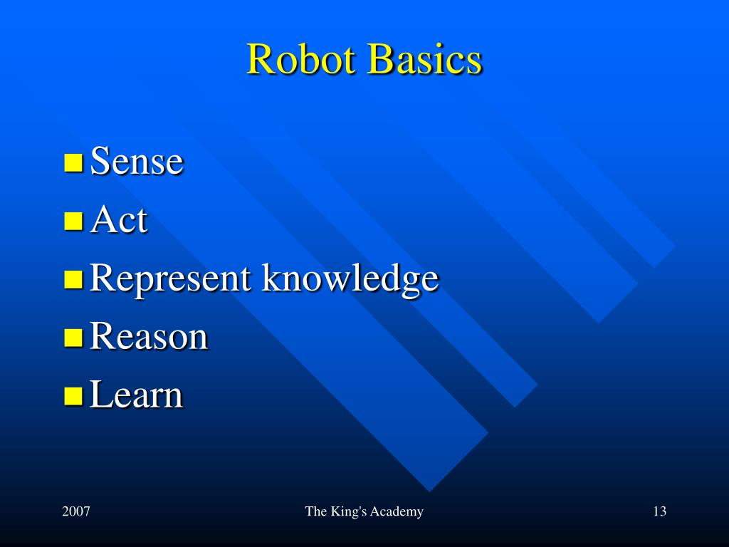 Robot Basics