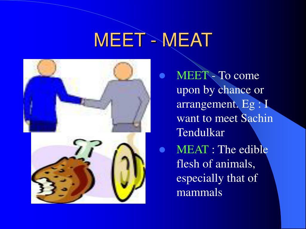 MEET - MEAT