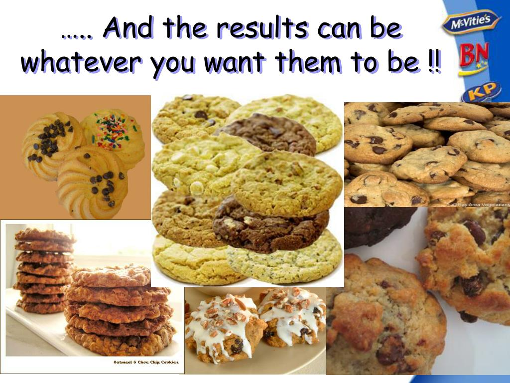 ….. And the results can be whatever you want them to be !!
