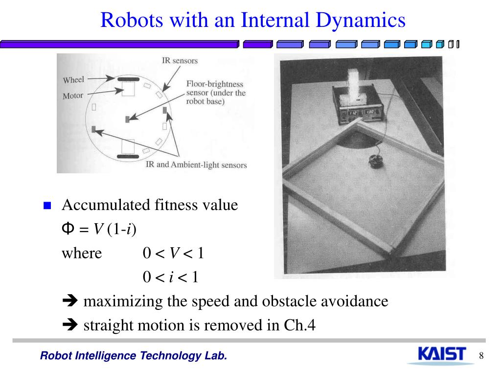 Robots with an Internal Dynamics
