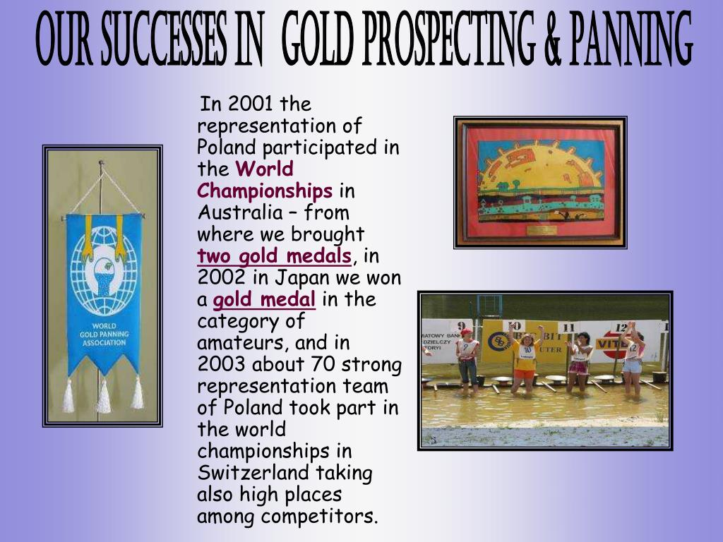 In 2001 the representation of Poland participated in the