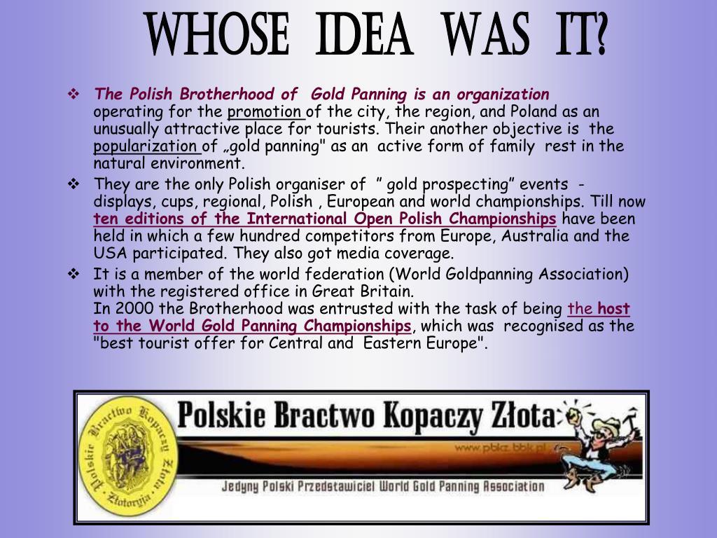 The Polish Brotherhood of