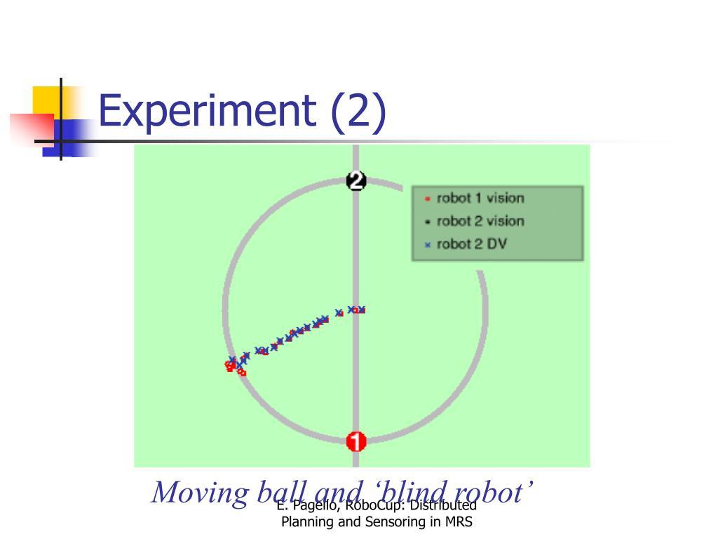 Experiment (2)