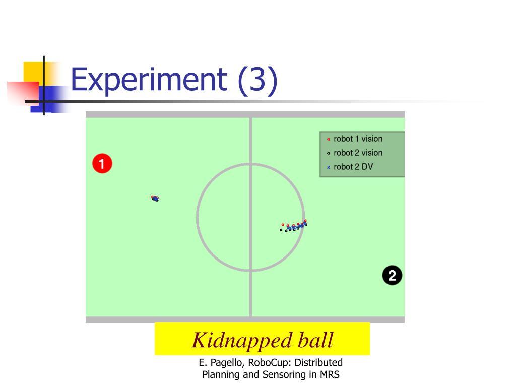 Experiment (3)