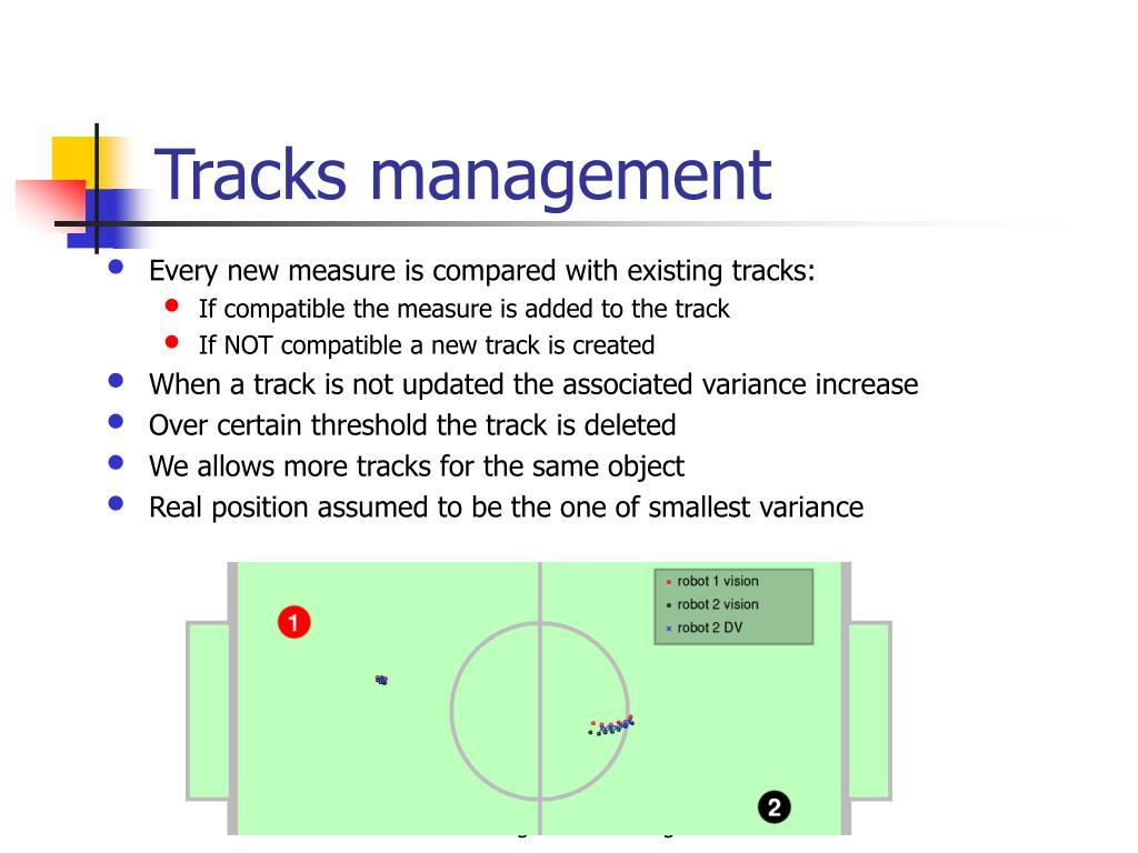 Tracks management