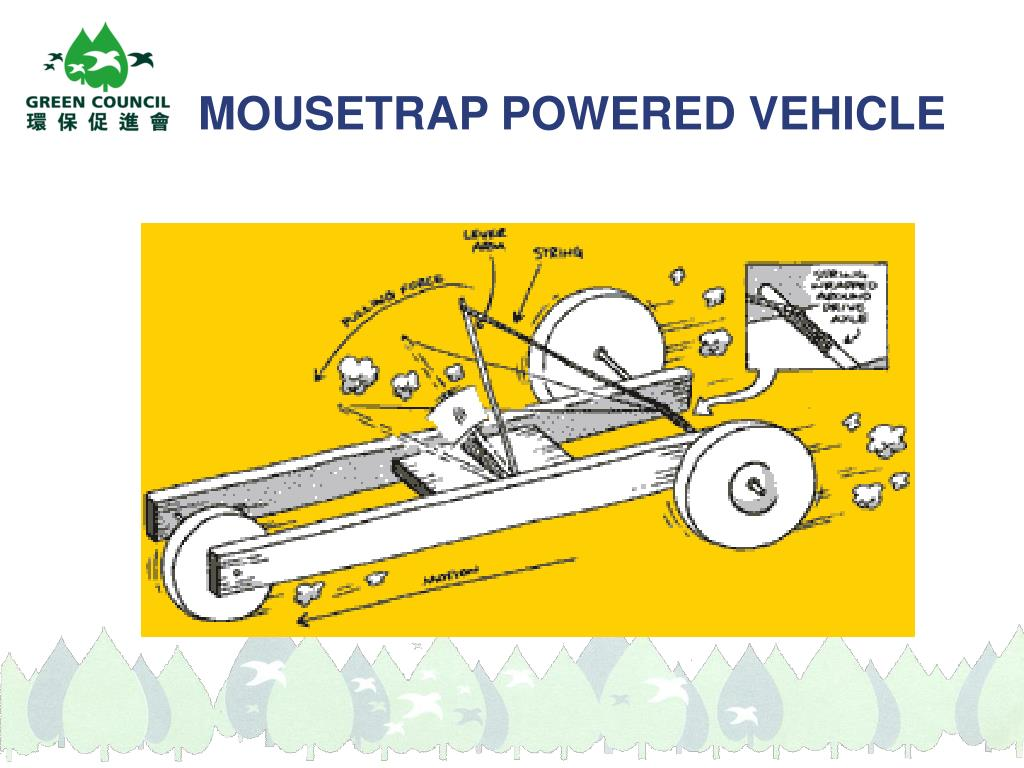 MOUSETRAP POWERED VEHICLE
