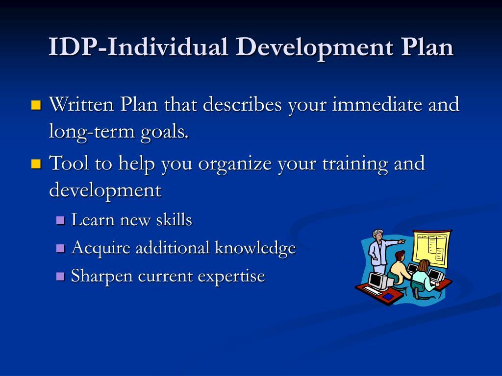 IDP-Individual Development Plan