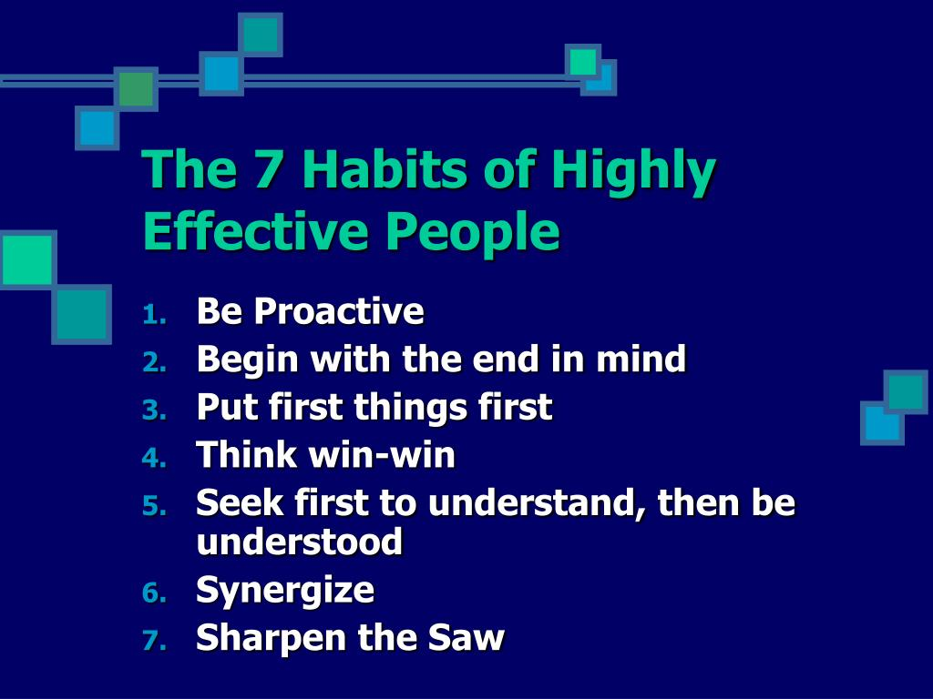 7 habits of highly effective people reaction paper 14 habits of highly effective disciples—adult bible teaching guide copyright sequence how you teach so as to follow.