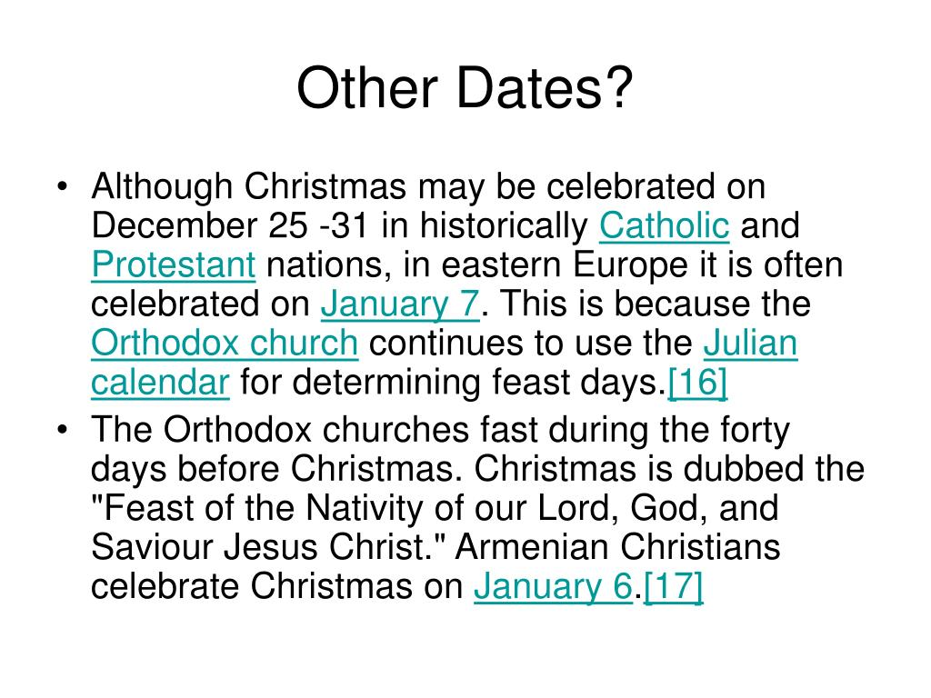 Other Dates?