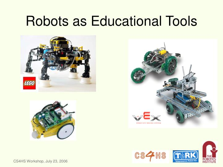 Robots as educational tools
