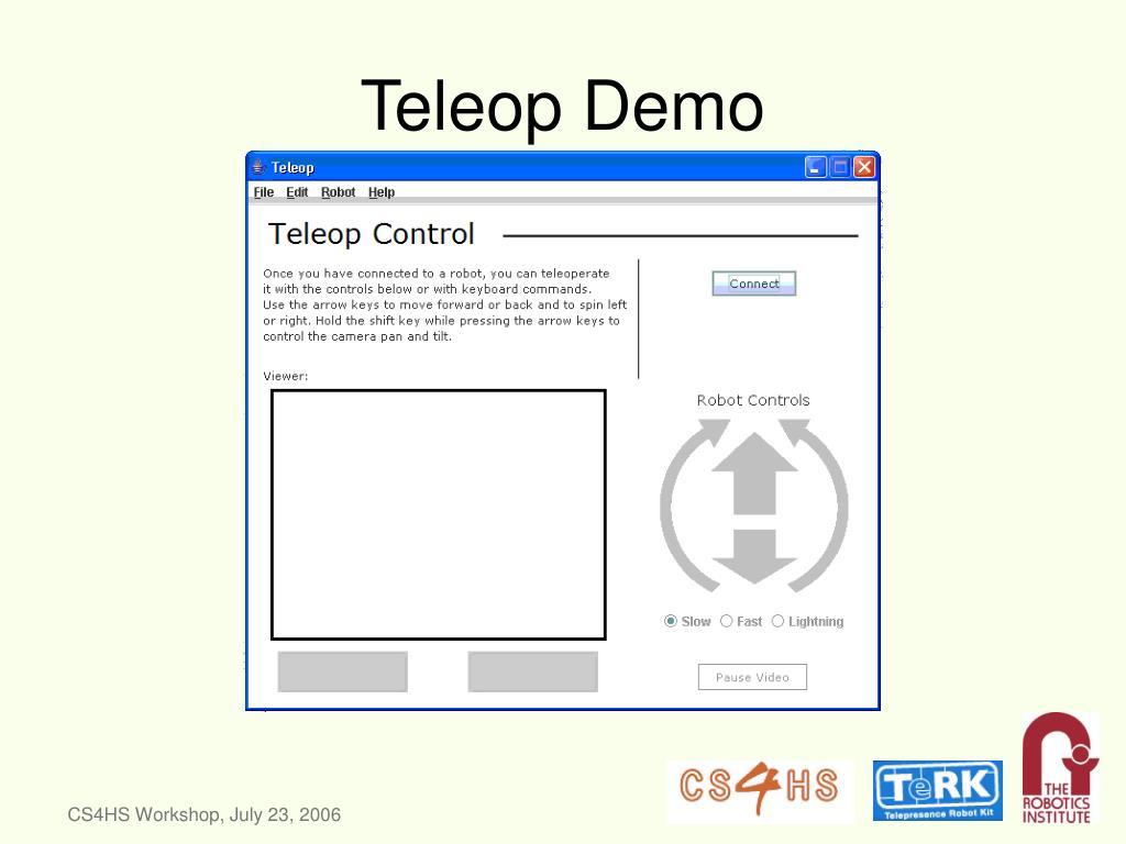 Teleop Demo