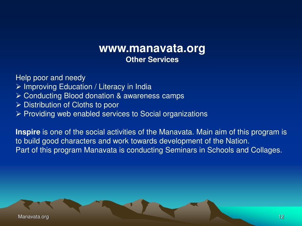 www.manavata.org