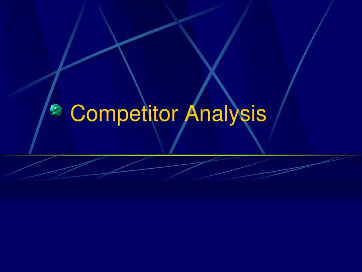 Competitor analysis l.jpg