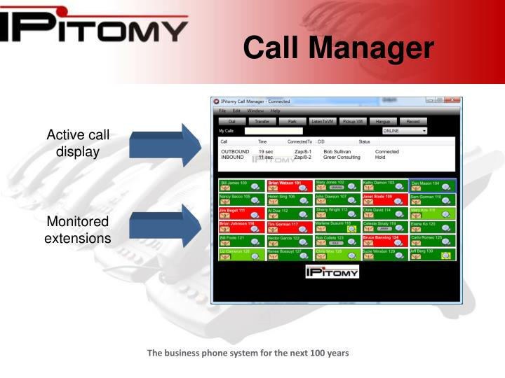 Call manager3