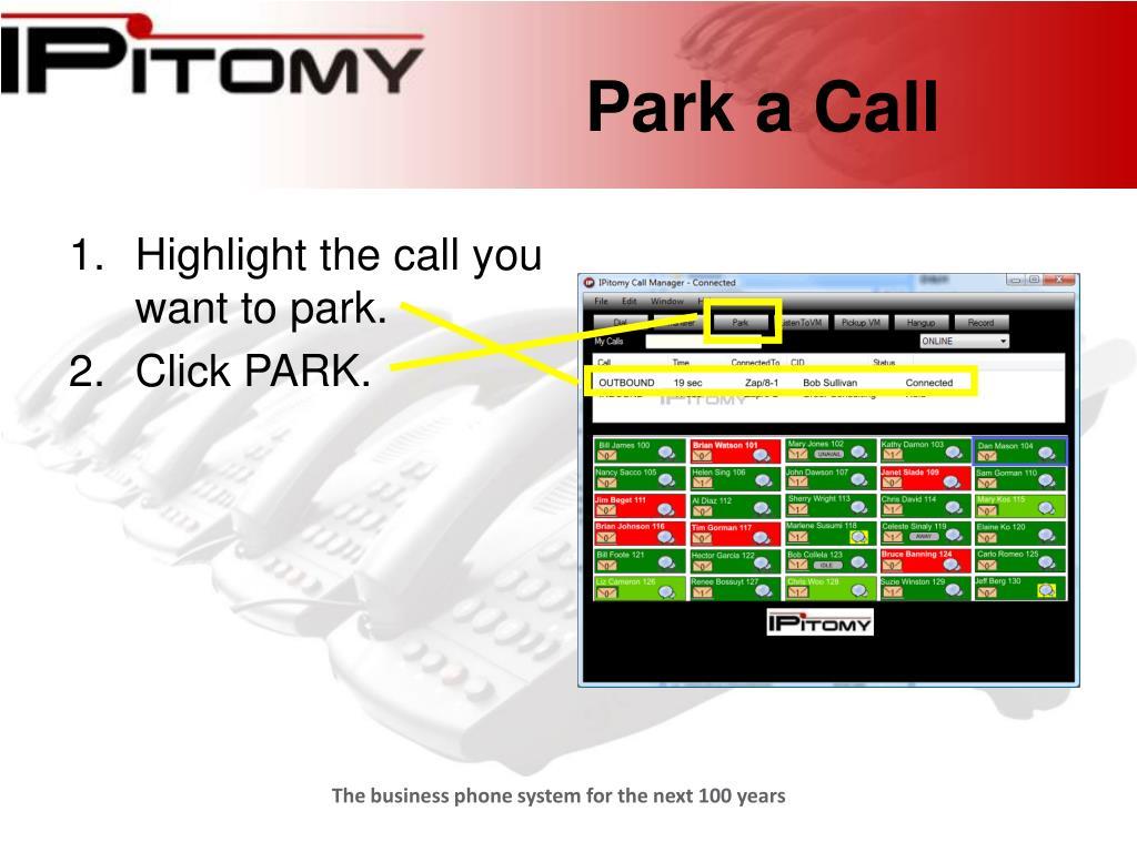 Park a Call