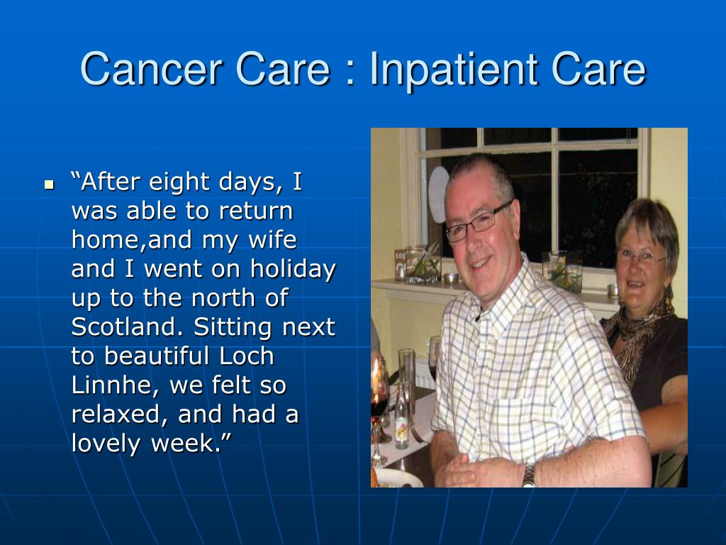 Cancer Care : Inpatient Care