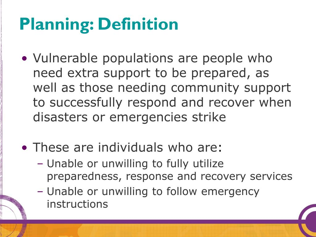 Planning: Definition