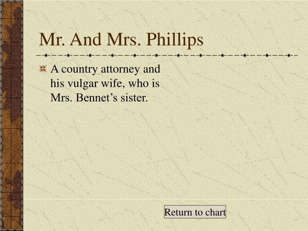 mrs and mr bennet parenting The reason why mrs bennet was so upset at elizabeth for not marrying mr   her parenting skills are non-existent: she's an indulgent mother to lydia and kitty ,.