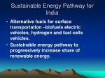 sustainable energy pathway for india11