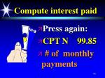 compute interest paid94