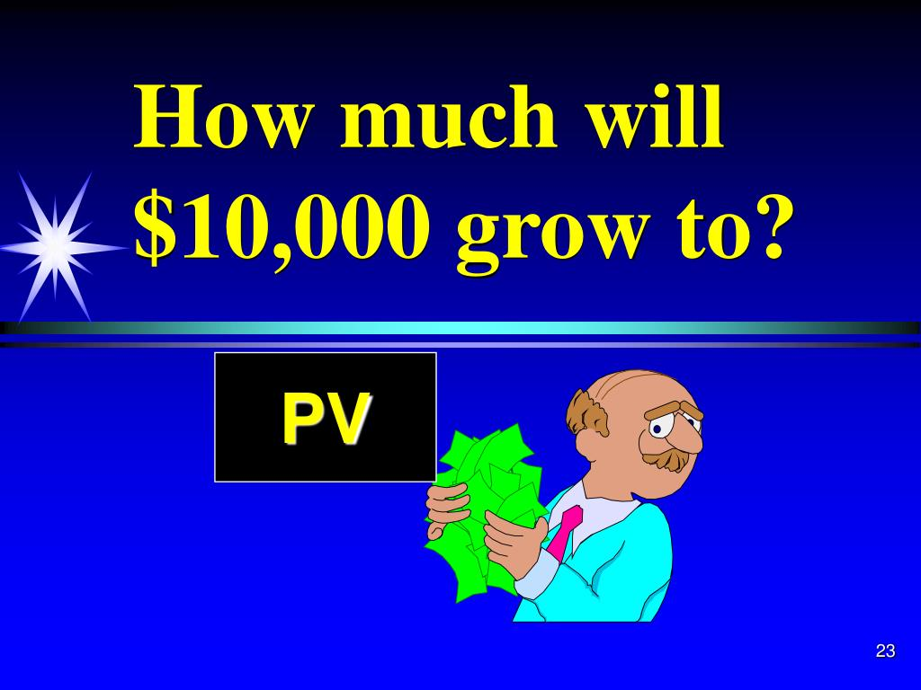 How much will $10,000 grow to?