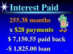 interest paid90