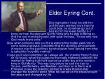 elder eyring cont