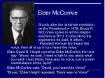 elder mcconkie