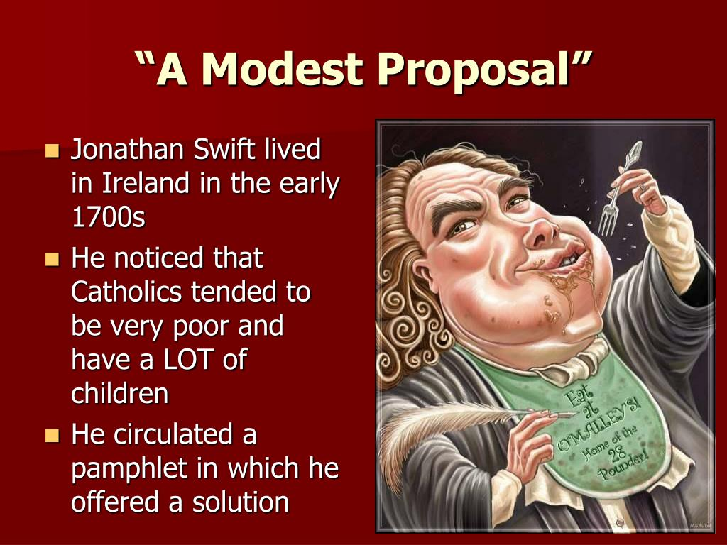 What Is the Purpose of Jonathan Swift's