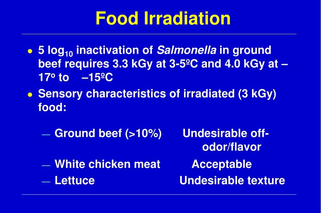 Food Irradiation