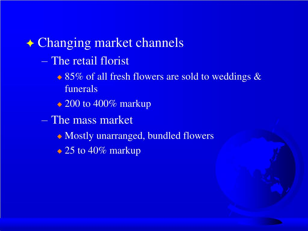 Changing market channels