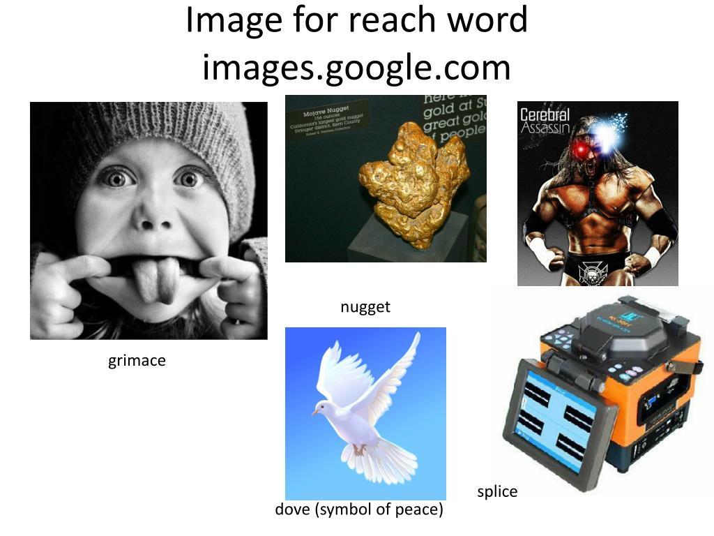 Image for reach word images.google.com