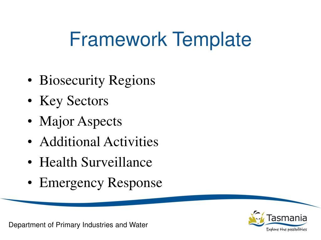 Framework Template