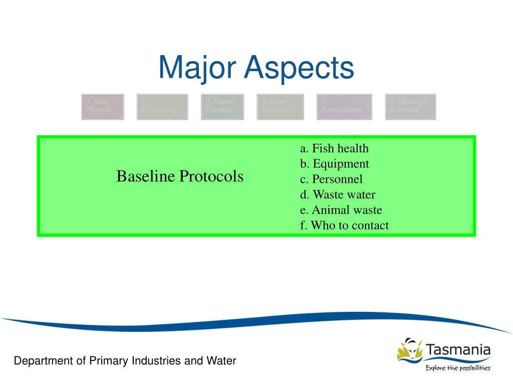 Major Aspects