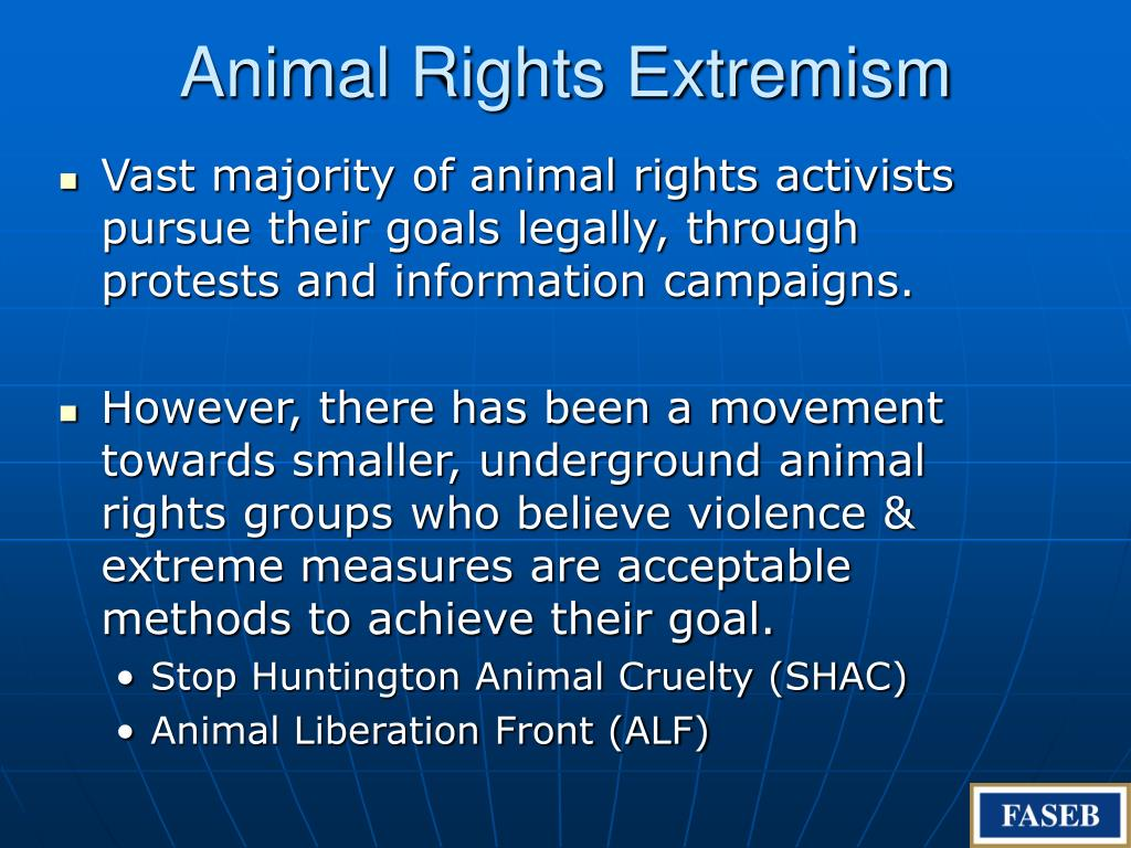 Animal Rights Extremism
