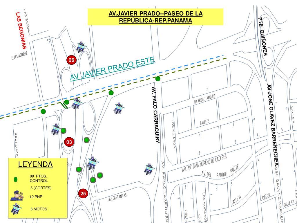 AV.JAVIER PRADO--PASEO DE LA REPÚBLICA-REP.PANAMA